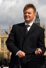 Alexandre Litvinenko en septembre 2004, alors réfugié en Grande-Bretagne.