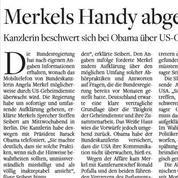 Espionnage : la presse allemande indignée