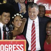 Le démocrate Bill de Blasio élu maire de New York