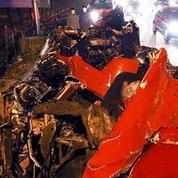 Un nouvel accident de Ferrari fait polémique en Chine