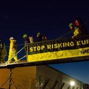 Des militants de Greenpeace se sont introduits dans la centrale de Fessenheim