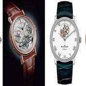 Les pièces exceptionnelles des manufactures horlogères
