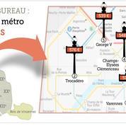 Paris : le prix de l'immobilier de bureau... par station de métro