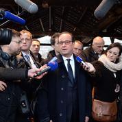 Hollande et les journalistes : «Je n'ai rien à cacher»