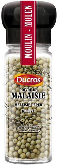 En France, McCormick a multiplié les lancements, notamment ce poivre exotique (Ducros) de Malaisie. Crédit: Ducros