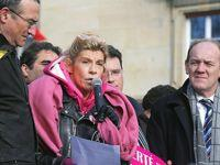 Frigide Barjot assistait à la manifestation parisienne.