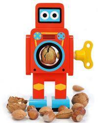 Casse-noix Robot en bois.