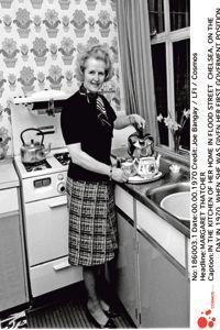 Margaret Thatcher en 1970.
