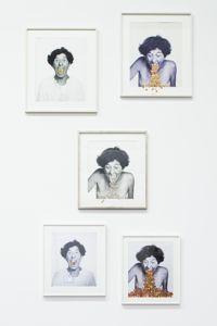 Esther Ferrer,<i> Face B. Image / Autoportrait</i>.