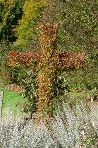 La croix végétale en tilleul. DR