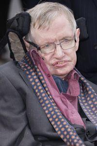 Le physicien Stephen Hawking est affecté par la SLA.