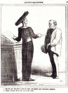 Dessin de Daumier.