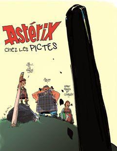 Astérix par Al Coutelis.