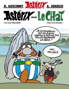 Astérix par Philippe Geluck.