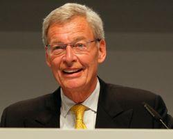 Gerhard Crome, président du conseil de surveillance de Siemens.