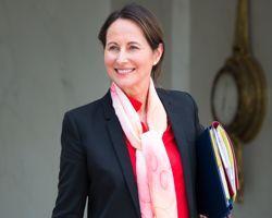 Ségolène Royal, ministre de l'Écologie, du Développement durable et de l'Energie.