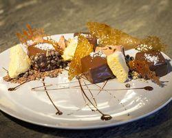 Le croquant au chocolat du restaurant Dessance.