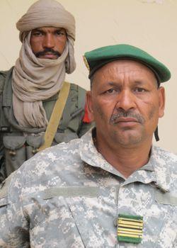 Le colonel El Hadj Ag Gamou, lundi à Gao.