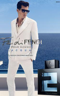 Campagne Fan di Fendi Acqua (Crédit: Fendi)