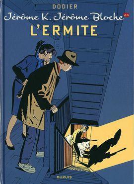 <i>Jérôme K. Jérôme Bloche, L'Ermite, tome 24</i> d'Alain Dodier.<i></i>