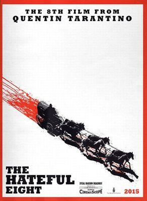 Affiche «sanglante» de <i>The Hateful Eight</i>