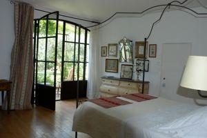 La chambre «Magalena» face au jardin.