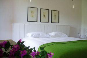 Une des cinq chambres d'U Castellu.