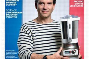 Arnaud Montebourg en une du <i>Parisien Magazine</i>.