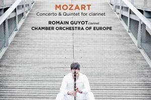 <i>Concerto pour clarinette - Quintette avec clarinette</i> Wolfgang Amadeus Mozart, Romain Guyot, Chamber Orchestra