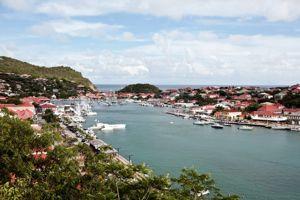 Le port de Gustavia à Saint-Barthélémy (Crédits: CYRIL FOLLIOT / AFP)