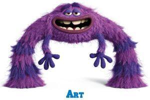 Art, le personnage doublé par Jamel.