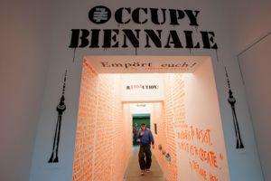 La Biennale de Berlin en 2012.