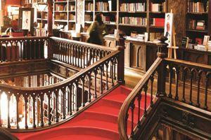 L'intérieur de la librairie Lello&Irmao.