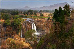 Les chutes de Tissisat, l'une des plus belles cascades au monde.