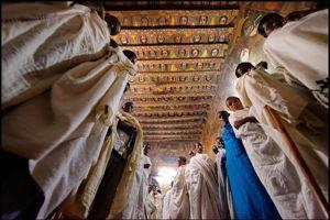 L''église de Debre Birhan baptisée la «chapelle Sixtine de l'Ethiopie».