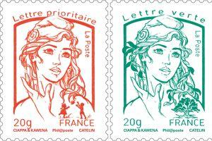 Les timbres ont été créés par David Kawena et Olivier Ciappa.