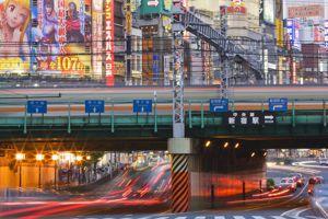 Trafic sur l'avenue Yasukuni Dori Avenue.