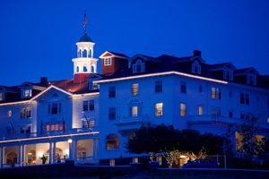 Le Stanley Hotel, le plus ancien établissement de l a région.