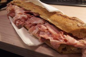 Le sandwich de Lazare (Crédits: FS)