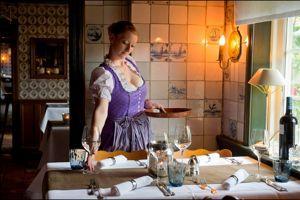 Le restaurant Alte Friesenstube compte parmi les bonnes tables de Westerland.
