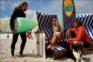 Sylt est une destination bénie pour les amateurs de surf.