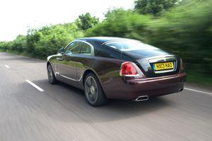 La Wraith présente une silhouette plus moderne, notamment au niveau de l'arrière du véhicule. Crédit: Rolls-Royce