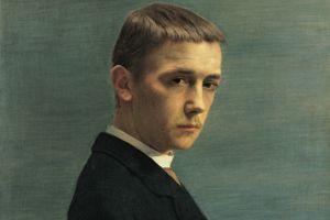 Autoportrait à l'âge de vingt ans, 1885, huile sur toile.