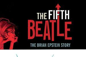 Extrait de la couverture de la bande-dessinée <i>The Fifth Beatles</i>