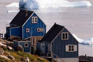 Chambre avec vue sur les glaces de Kullorsuaq.