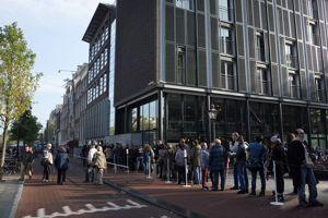 La maison d'Anne Frank.