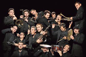 L'orchestrede jazz The Amazing Keystone BigBand.