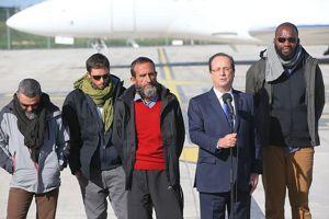 Les quatre otages et François Hollande