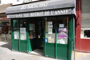 Le bistrot Au Bascou, à Paris (IIIe)