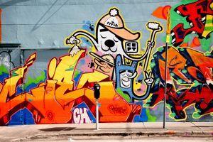 Un des <i>murals </i>de Wynwood Walls.